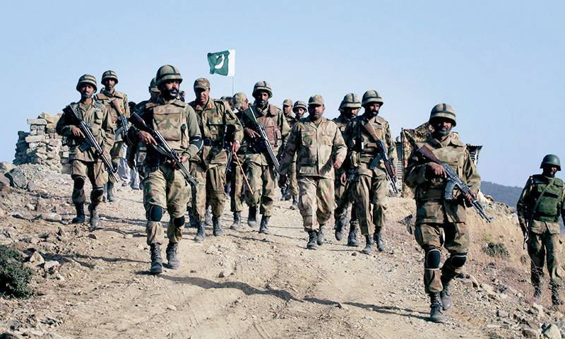 Seven terrorists killed, two soldiers martyred in N Waziristan operation