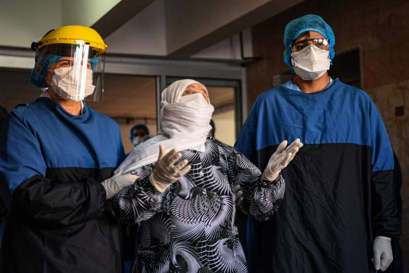 Turkey sees hope as 93-year-old virus patient discharged