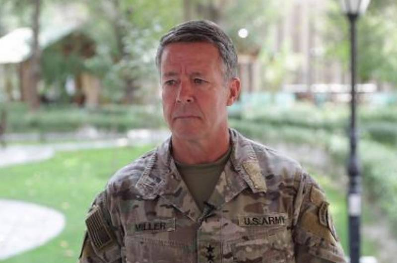 US General Miller holds talks with Taliban in Doha