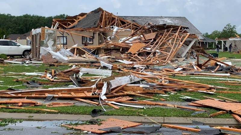 At least six dead in US state of Mississippi after tornadoes