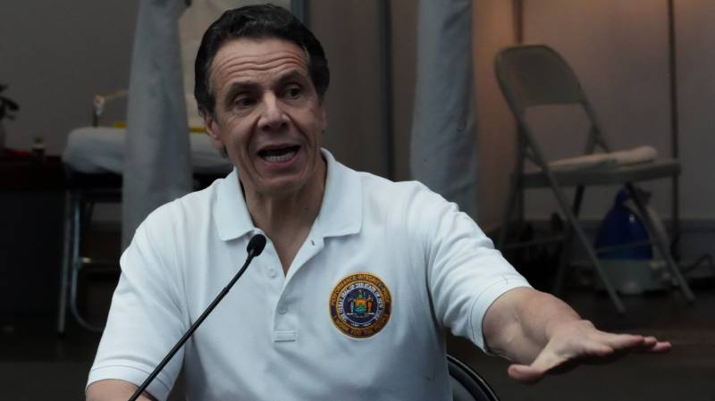 New York governor says worst of pandemic 'is over'