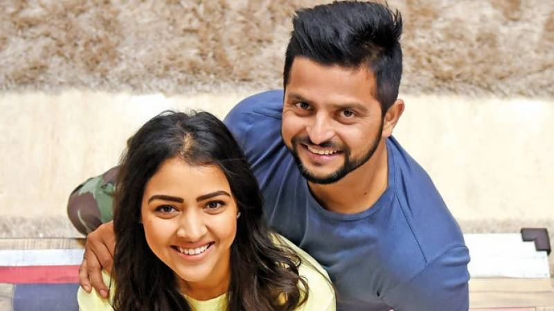 Spouses turn hairstylists: Now Suresh Raina's wife takes the scissors