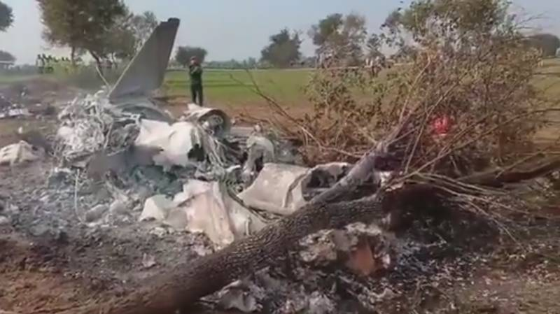 Two army officers martyred in plane crash