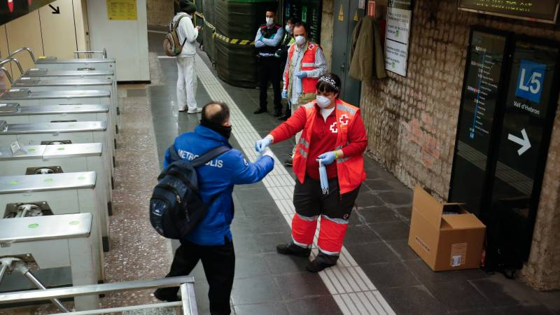 Spain's rise in new infections drop to lowest level