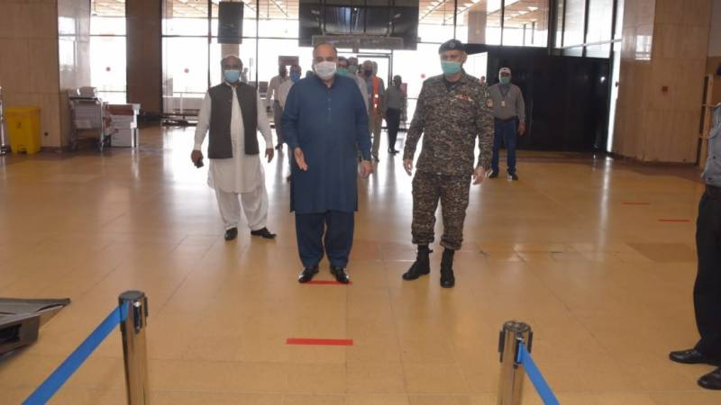 CAA holds mock exercise at Karachi airport