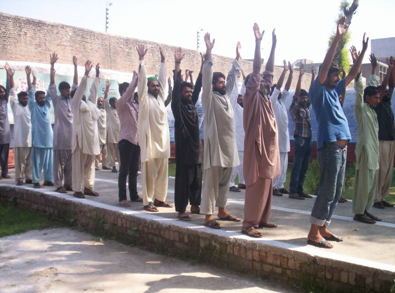 37 prisoners tested negative at Lahore's Camp Jail