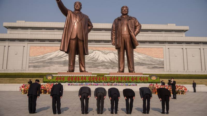 Low-key celebrations for North Korea's founder in face of virus