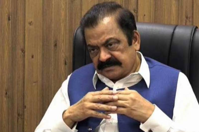 Rana Sana demands relief package for small traders