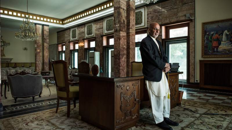 20 of Afghan president's palace staff have virus