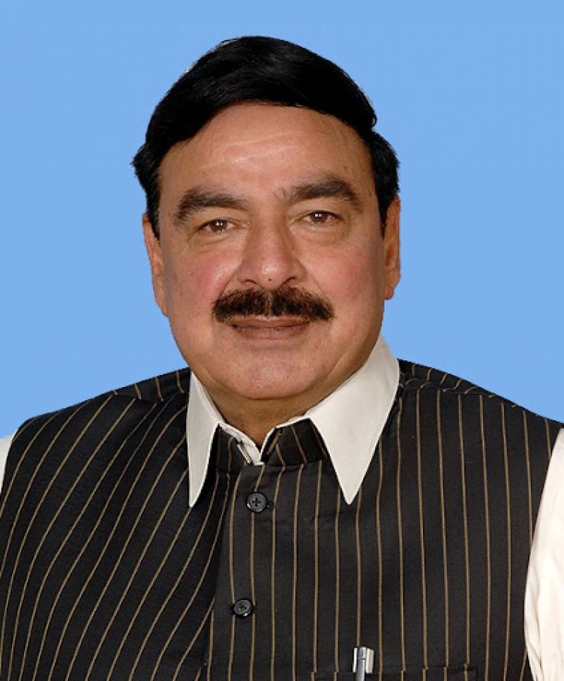 30-car train to be used as isolation centre at Chaman: Sheikh Rashid