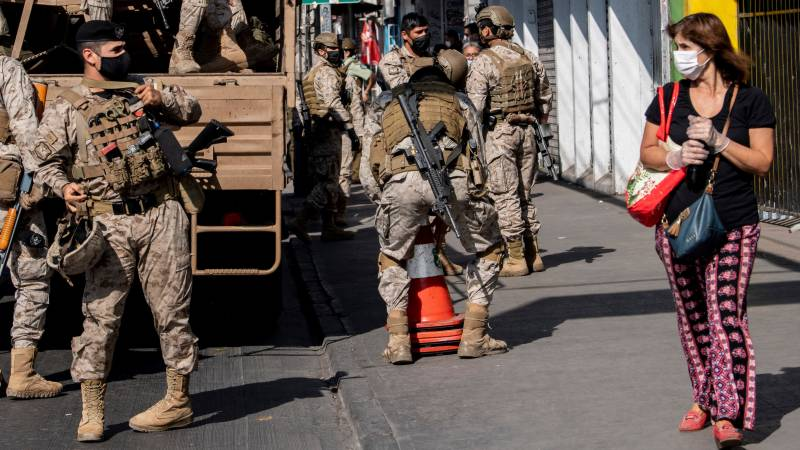 Chile unrest simmers under pandemic lockdown
