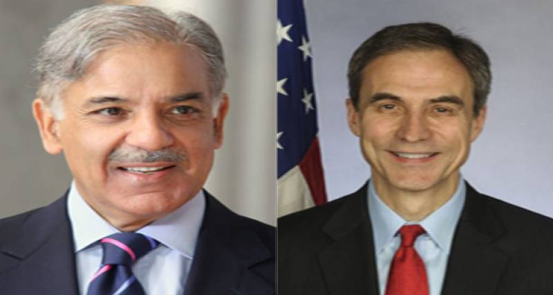 US leading supporter of debt relief for Pakistan, says envoy