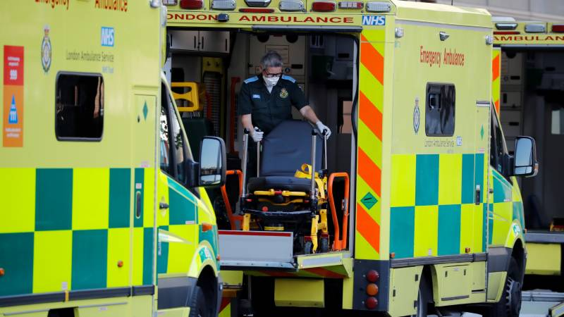 UK virus death toll rises by 449 to 16,509: ministry