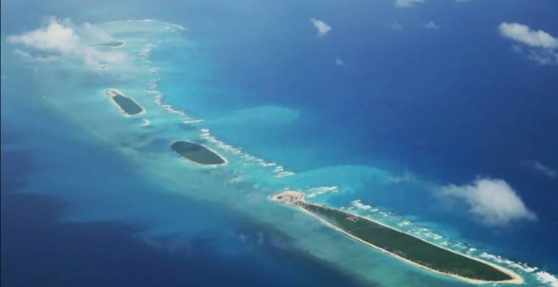 Beijing names islands in disputed South China Sea