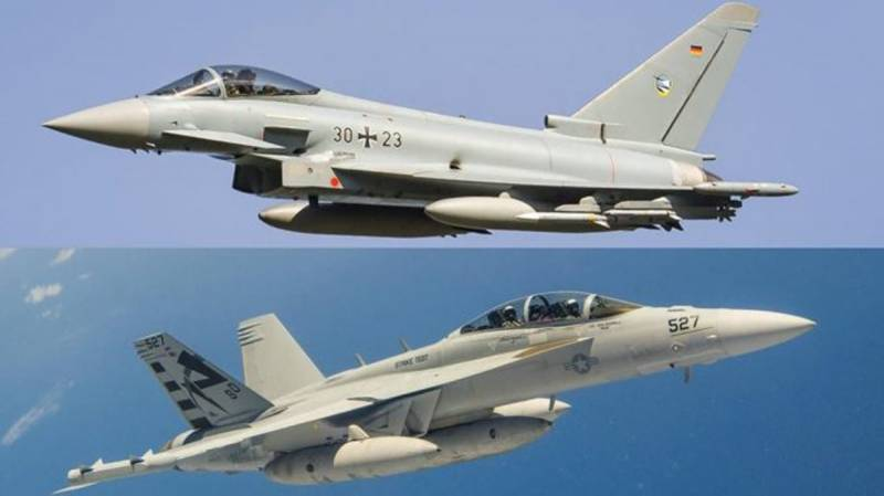 Germany to buy 93 Eurofighters, 45 F-18s