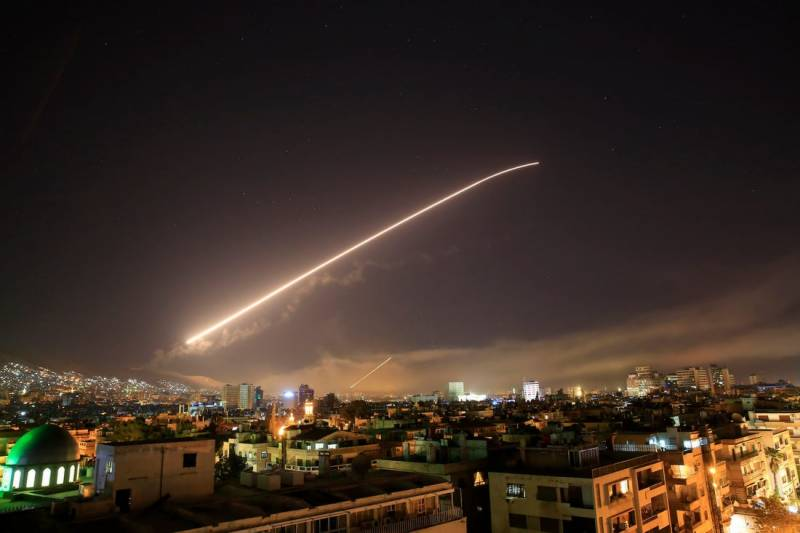 Syrian air defences down Israeli missiles: state media