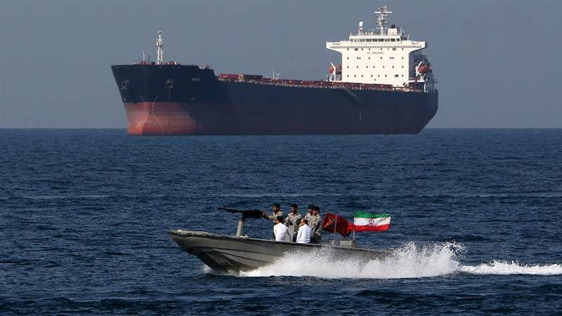 Trump says US will destroy any Iranian gunboats harassing US ships