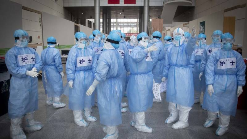 Chinese medical team arrives in Pakistan to help fight coronavirus