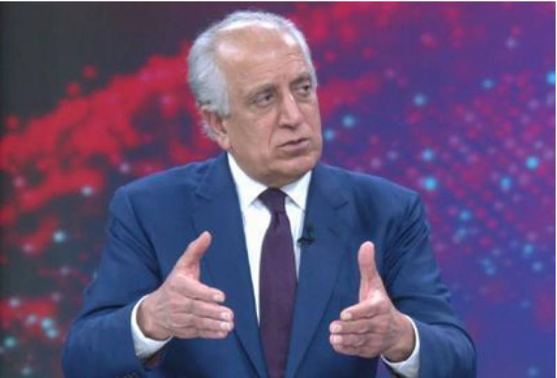 Khalilzad echoes Nato's call for Afghan peace