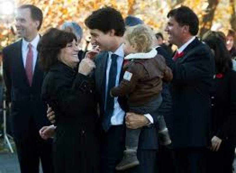 Apartment fire sends Canada PM's mother to hospital