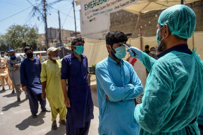 Coronavirus found in Quetta's Fatima Jinnah Hospital MS
