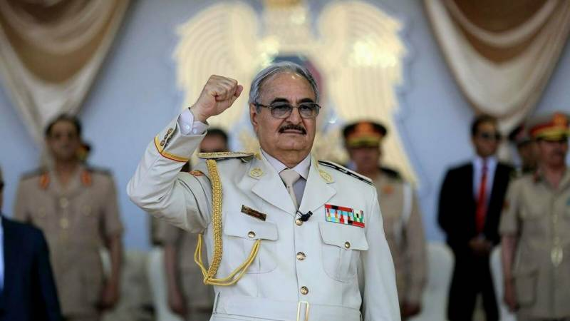Libya's Haftar claims 'mandate from the people'
