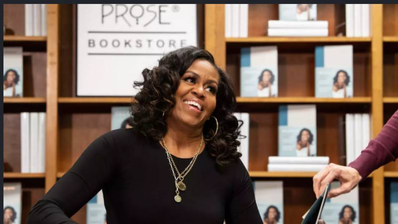 Michelle Obama book tour documentary hits Netflix