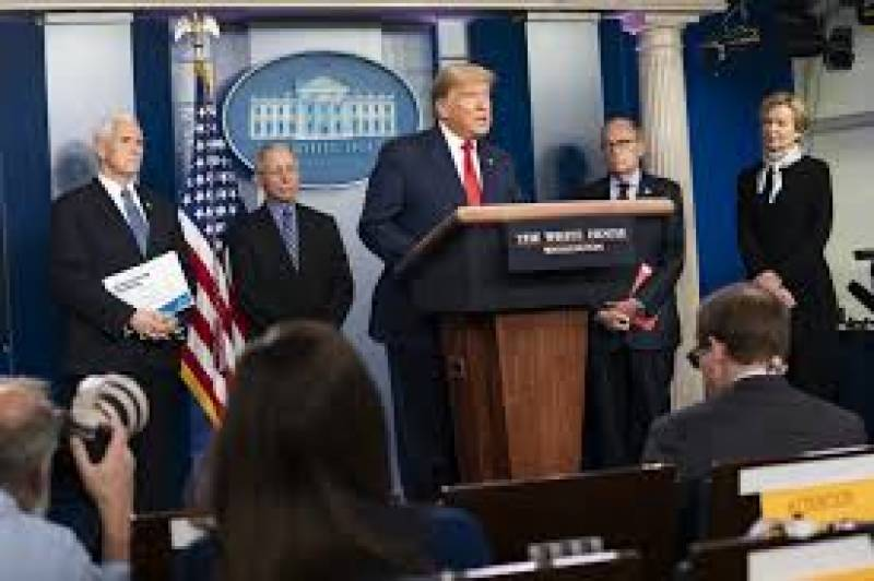 White House media briefings hit turbulence as Trump attacks 'enemy'
