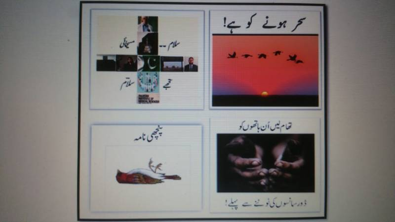 Four inspiring verses for the Pakistani nation