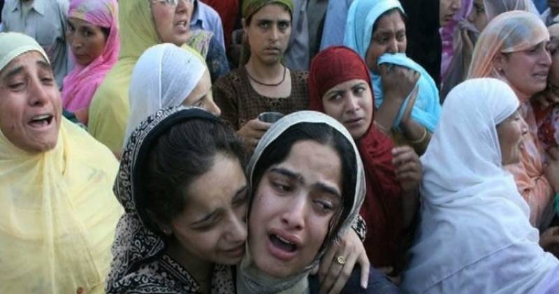 20 Kashmiris martyred by Indian security forces in two weeks
