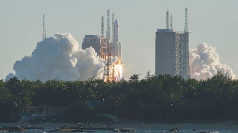 China launch of key new space rocket 'successful'