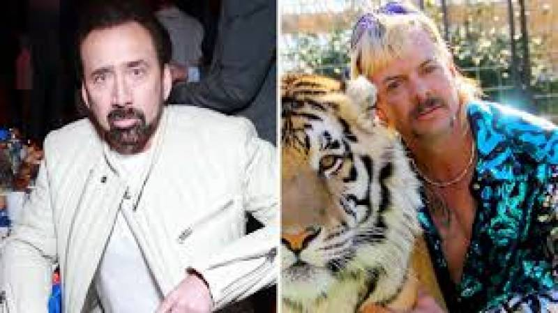 Nicolas Cage to star in 'Tiger King' series