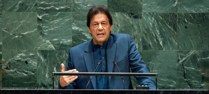 Imran again warns against possible false-flag operation by India