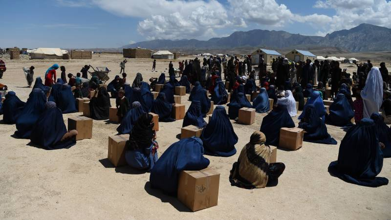 Six killed in clashes at Afghanistan food aid event