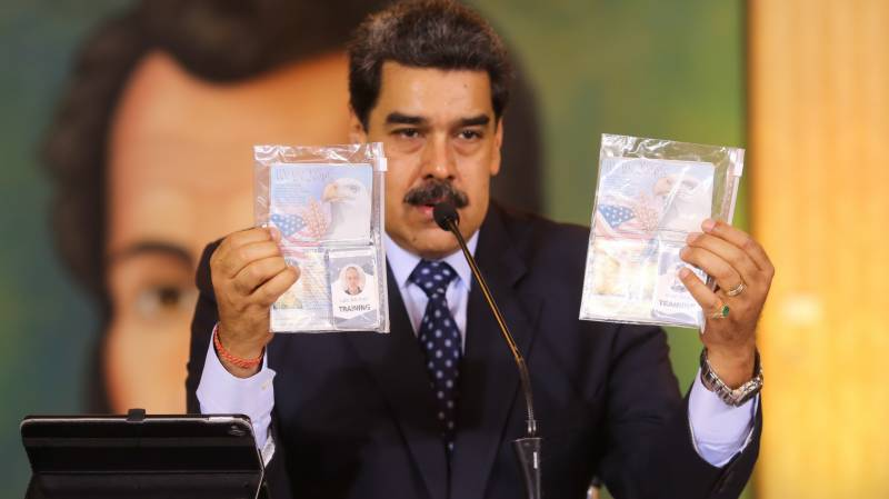 Venezuela charges Americans with terrorism, conspiracy