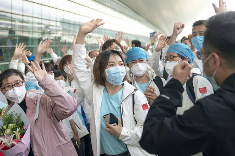 China's Wuhan reports first virus infection in over a month