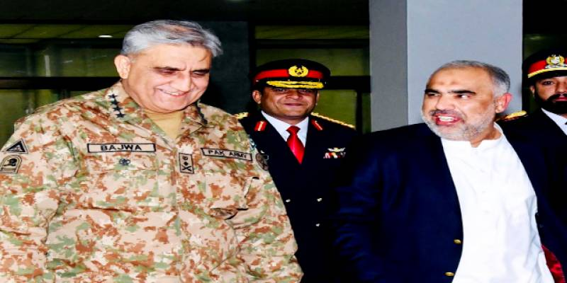 In phone call, COAS wishes NA Speaker speedy recovery