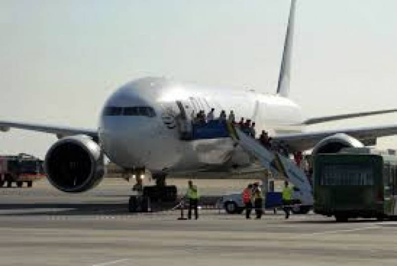 Another flight brings back 250 Pakistanis from Dubai