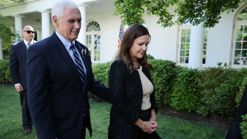 US VP Pence not in quarantine: spokesman