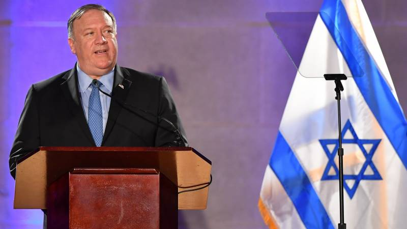Pompeo in Israel for West Bank annexation talks amid new bloodshed
