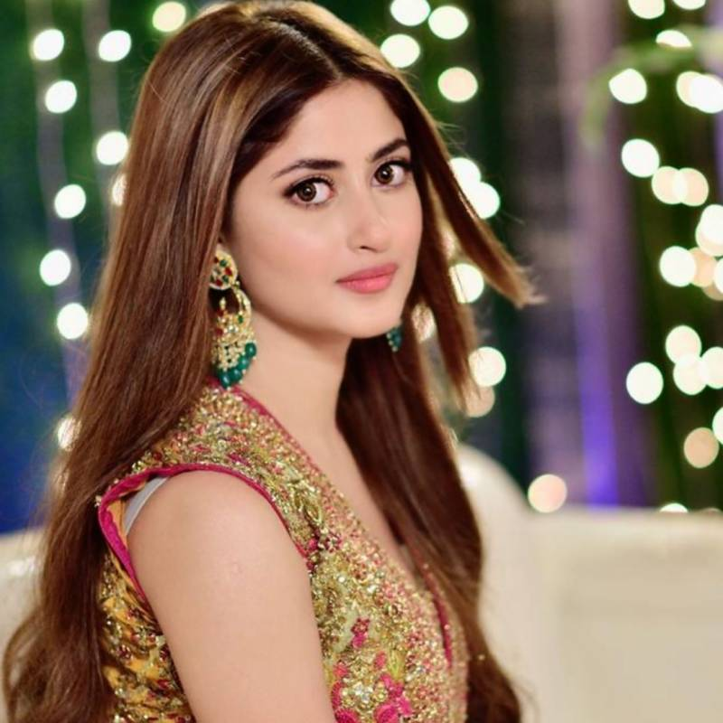 Sajal Aly shares favourite throwback picture from drama serial 'Alif'
