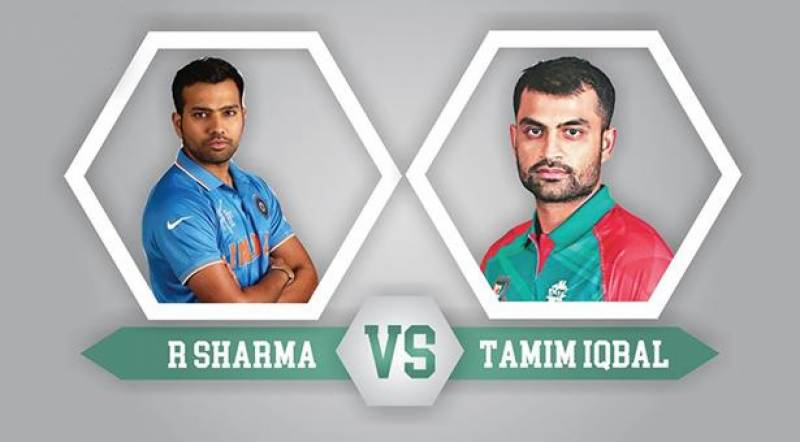 Tamim Iqbal to go live with Rohit Sharma on Facebook