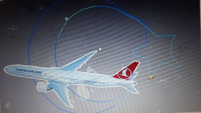 Turkish Airlines makes history as its flight tracked by 4 million people