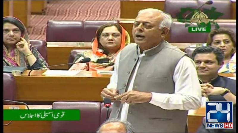 Ruckus in NA after minister calls for MPs accountability
