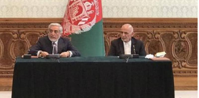 Abdullah to lead talks with Taliban as Afghan power-sharing deal signed