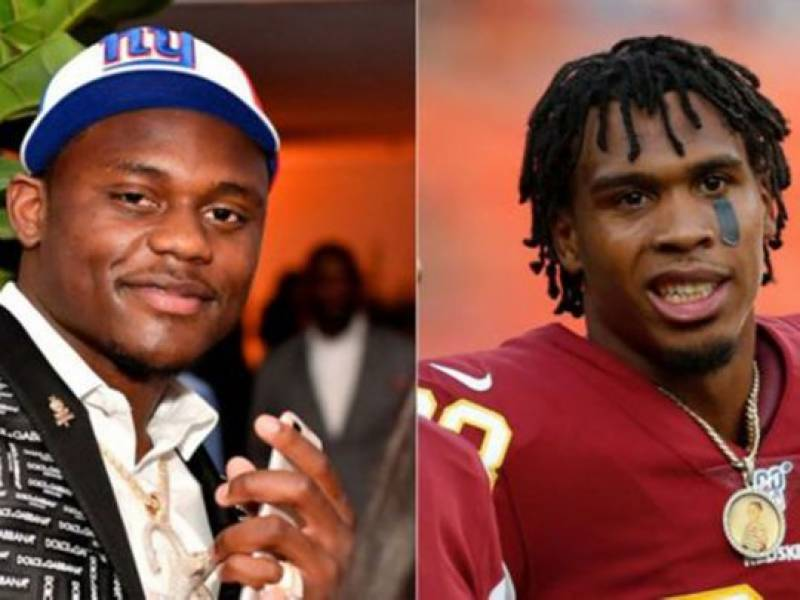 NFL players Baker, Dunbar turn themselves in on robbery charges