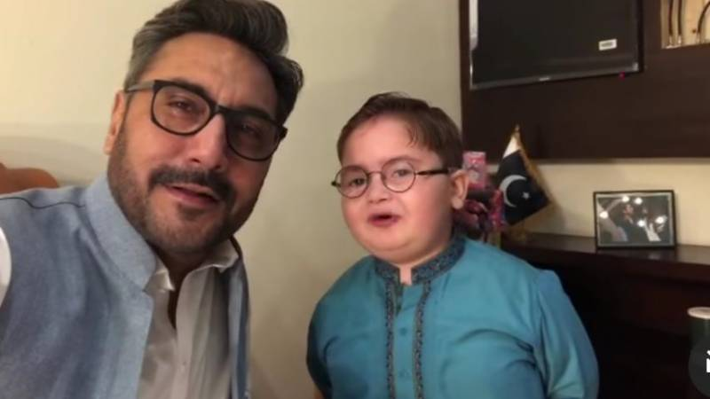 Adnan Siddiqui expresses love for Ahmed Shah