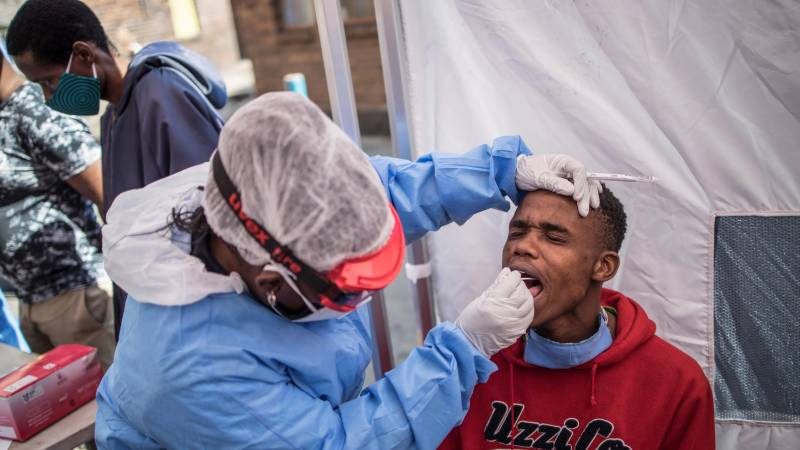 South Africa reports 24-hour record of 1,160 new virus cases
