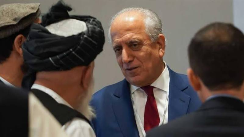 Khalilzad in Doha to spur start of intra-Afghan talks