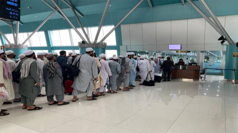 PIA flight carrying 237 Pakistanis lands in Islamabad from Indonesia